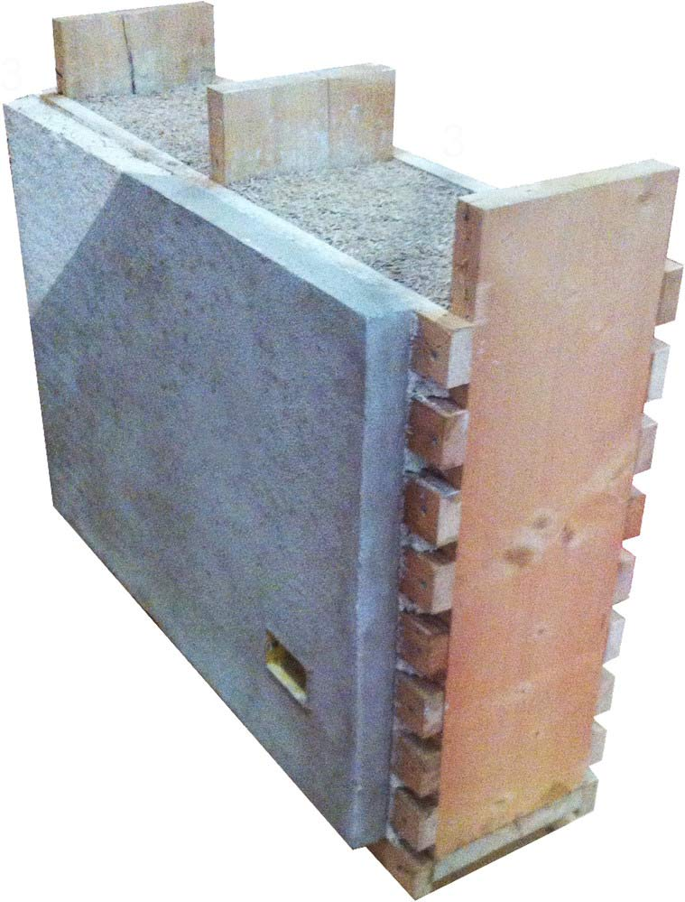 CalceLegnoCanapa - Modulo-parete